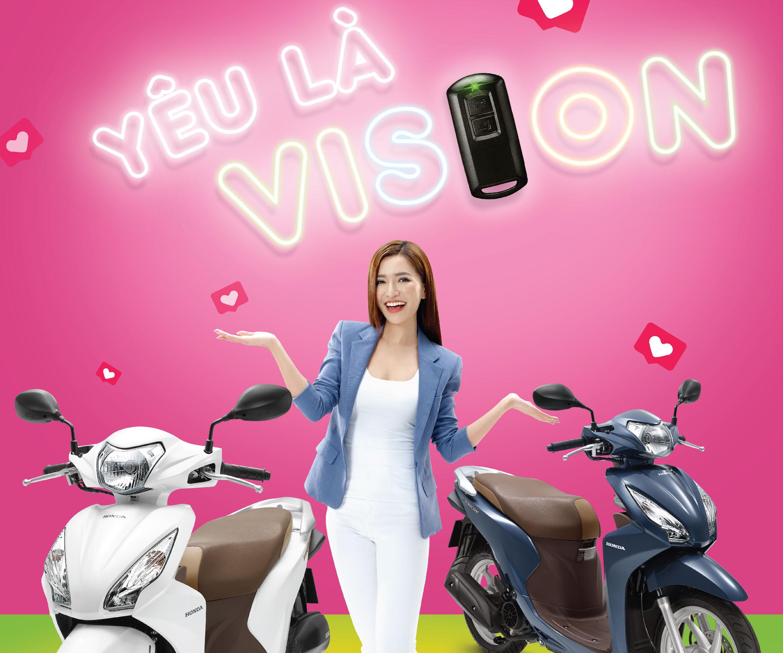 Honda Ngọc Anh giới thiệu Honda VISION phiên bản mới – Tích hợp hệ thống khóa thông minh Honda SMART Key