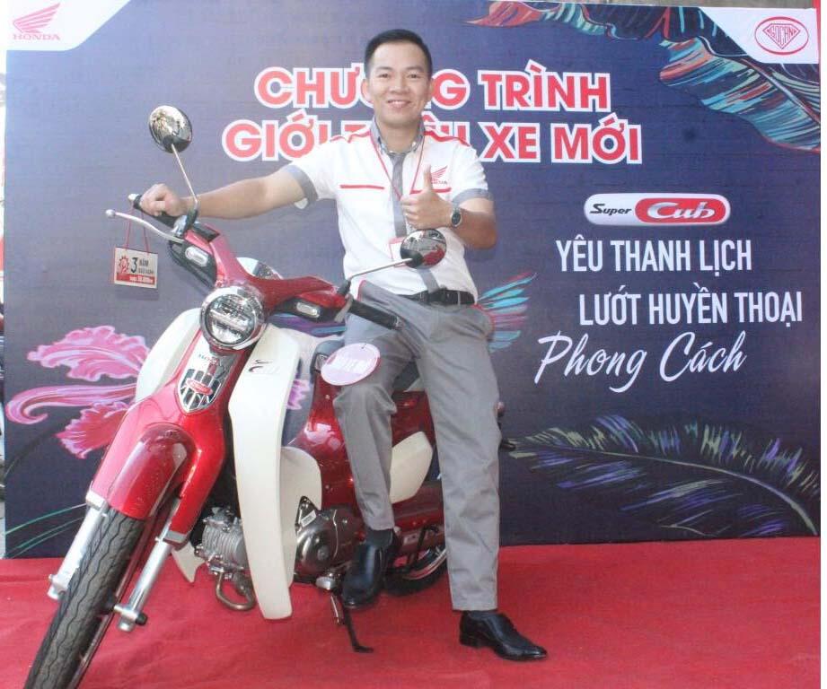 Chương Trình Giới Thiệu Xe Honda Super Cub C125 đầu tiên về Việt Namtại HEAD Ngọc Anh 2 Khu Vực Đà Lạt.