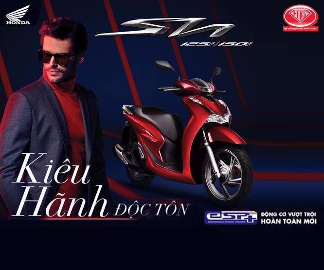 Honda Việt Nam giới thiệu phiên bản hoàn toàn mới SH 125i/150i -Kiêu hãnh độc tôn-