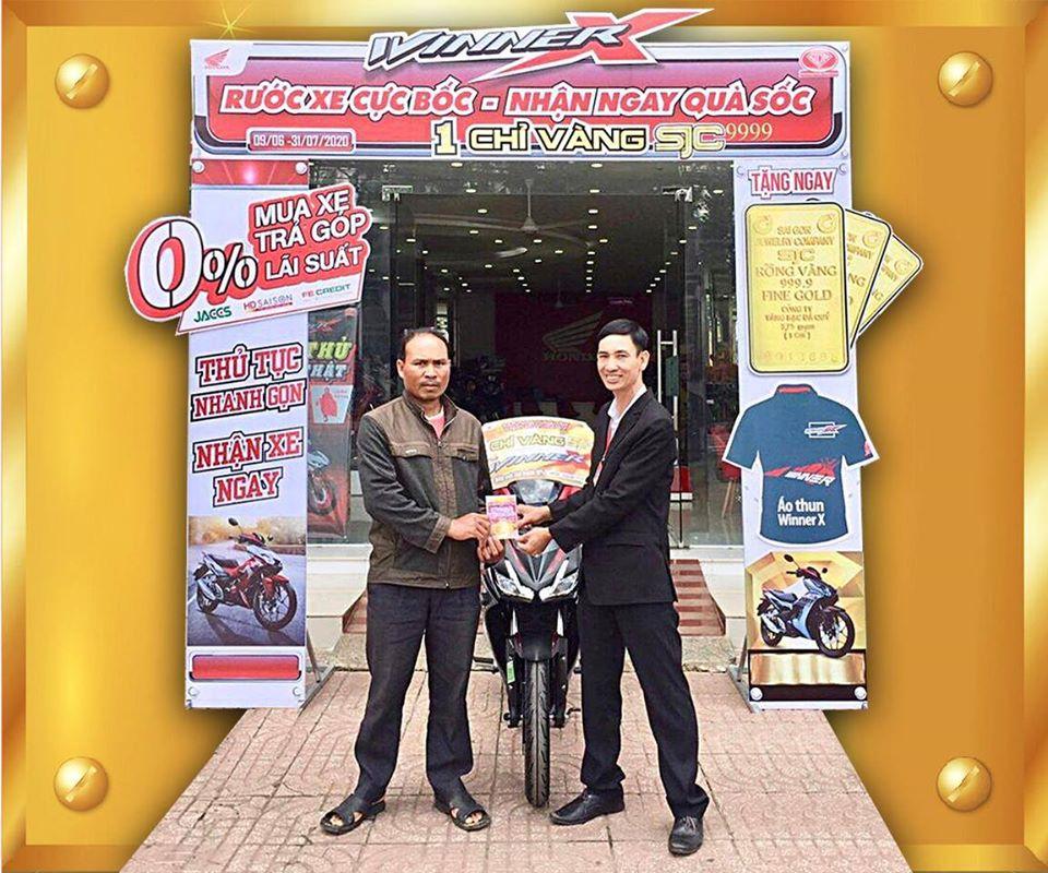 Tặng Ngay 1 Chỉ Vàng SJC 9999 Khi Mua Xe Winner Tại Hệ Thống Honda Ngọc Anh