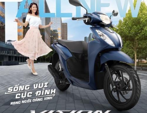 Honda Việt Nam giới thiệu Honda VISION hoàn toàn mới – Sống vui cực đỉnh