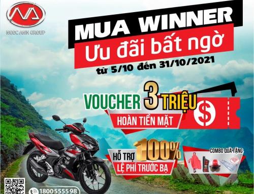 Nhận Ngay Ưu Đãi Khủng Khi Mua Xe Winner X Tại Honda Ngọc Anh